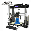 2017 high quality cheap Anet A8 Prusa i3 reprap 3d printer 8GB SD as gifts!! express shipping Russian warehouse