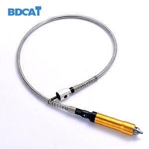 Image 2 - 6mm szlifierka rotacyjna giętki wałek pasuje + 0 6.5mm rękojeść dla stylu elektryczne wiertarki akcesoria narzędzie Dremel obrotowy