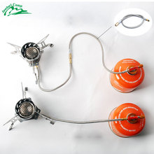 Jeebel 44cm Extend Tube Gas Stove Adapter Burner Outdoor Camping Propane Cylinders Tank
