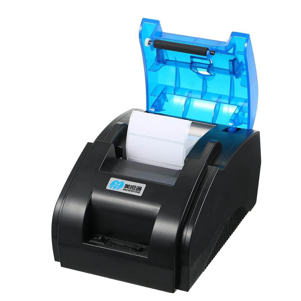 Image 2 - 바코드 프린터 높은 bt 품질 프린터 qr 코드 스티커 바코드 열 접착 의류 라벨 프린터 58mm 라벨 인쇄-에서프린터부터 컴퓨터 및 사무용품 의