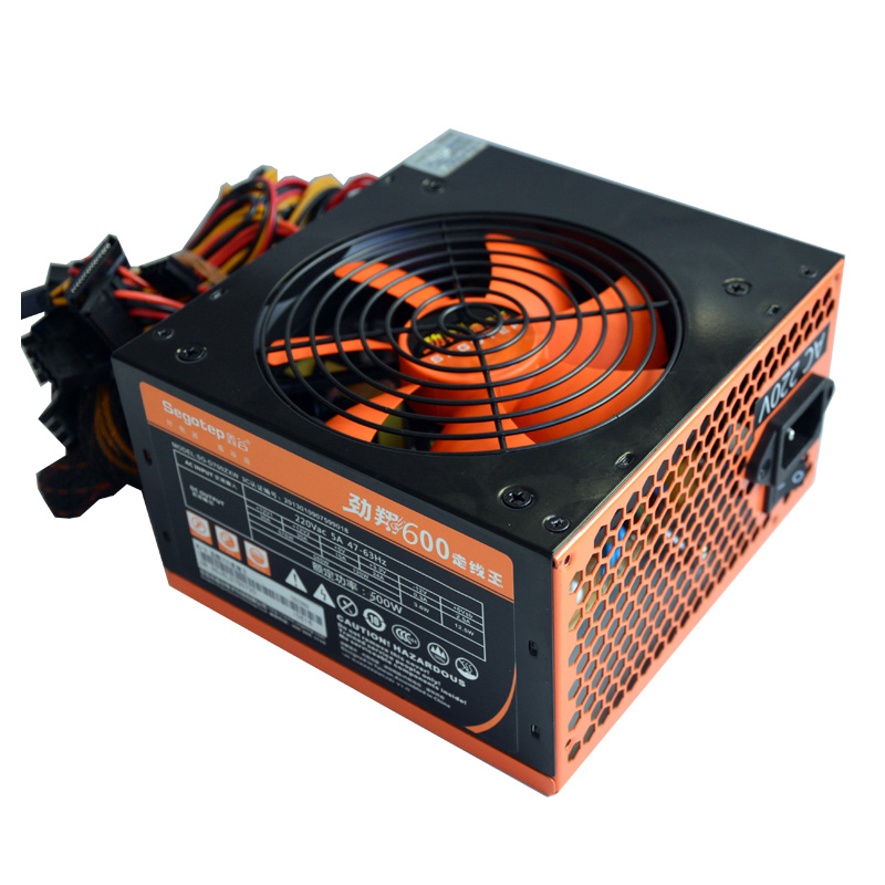 цена на Desktop Power 500W Power Supply 90-264V Main Computer Chassis With 12cm Fan Graphics Power Mute AC Input DC Output Back Wire