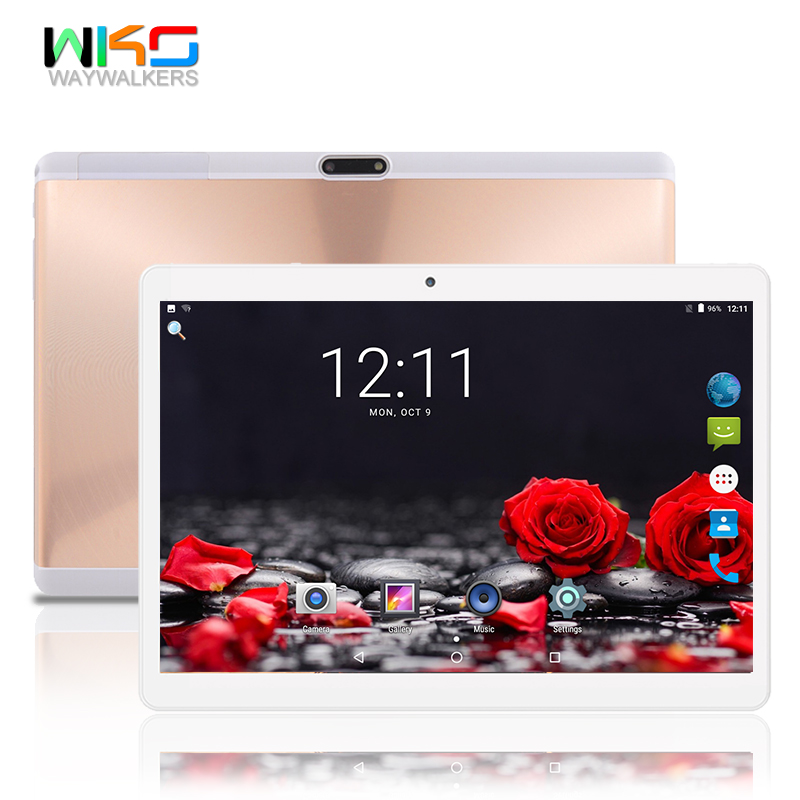 Tablets 10.1 inch ficial Original 3G 4G LTE Phone Call Google Android 7.0 Octa Core IPS pc Tablet WiFi ROM 32GB tablet pc 11 11 new 10 1 inch 3g 4g lte phone call android 7 0 octa core ips pc tablet wifi 4g 32g 7 8 9 10 android tablet pc 4gb 32gb