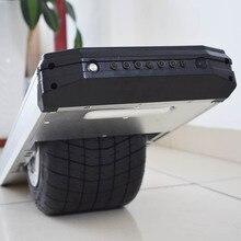 Толстая широкая шина одно колесо балансировки электрический скейтборд колесио с светодиодный свет S1