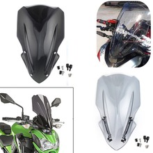 For Kawasaki Z900 Z 900 Windscreen Windshield Wind Screen Headlight Cover 2017 2018 2019 Motorcycle Smoke
