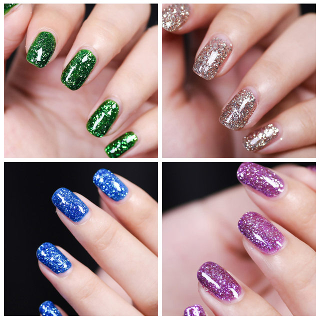 How To Do Glitter Uv Gel Nails Hireability