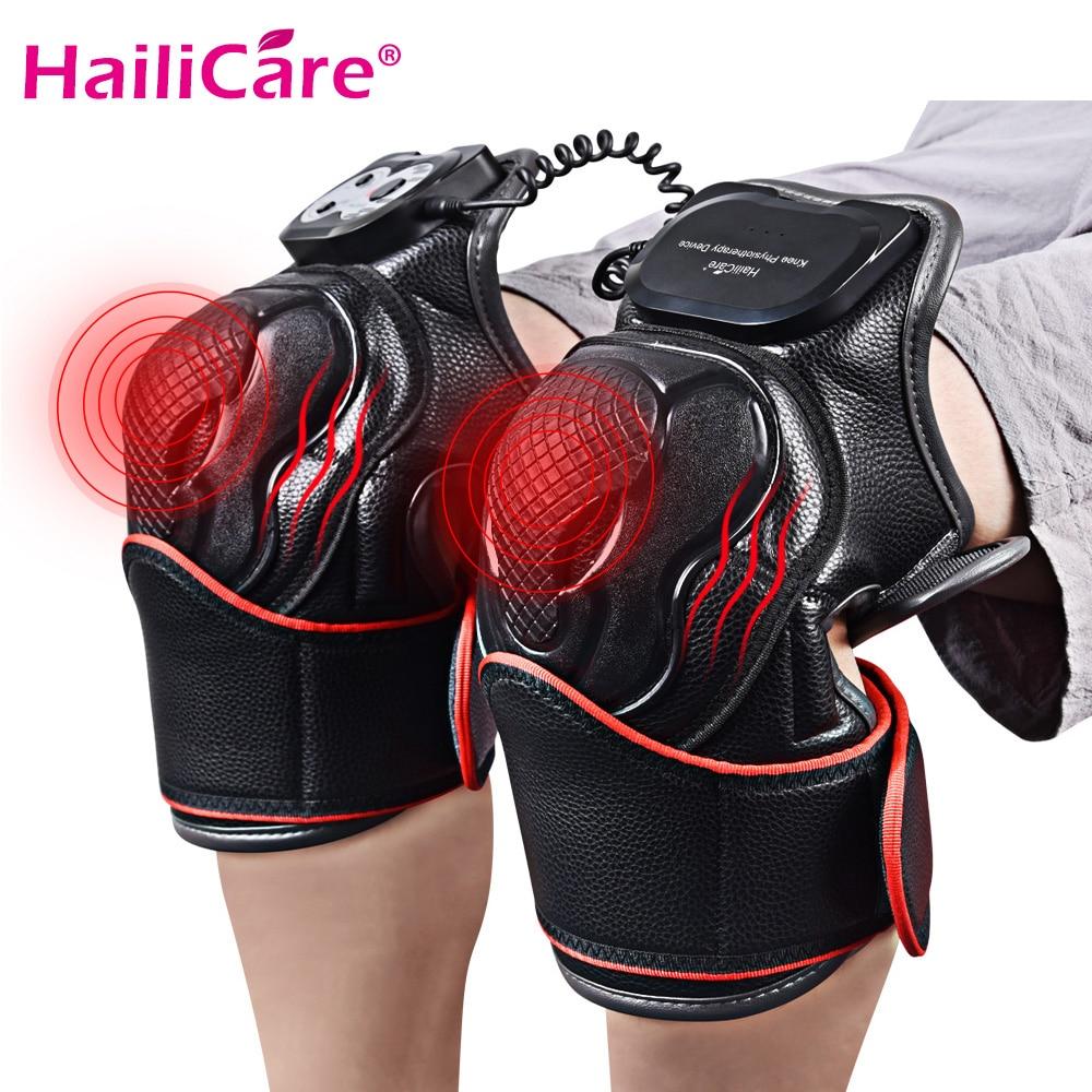 Électrique genou magnétique chauffage Massage Joint physiothérapie masseur magnétique Vibration soulagement de la douleur équipement de réadaptation soins