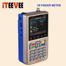 Freesat V8 Finder Meter DVB S2 DVB S FTA Digital Satellite SatFinder HD Satellite Finder Tool LCD Sat Finder lnb Signal Meter