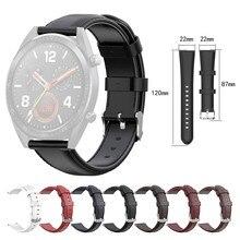 Мягкий силиконовый спортивный ремешок Кожа Замена Пряжка для ремешков наручных часов Ремешок Для huawei Watch GT 46 мм ремешок для часов#20
