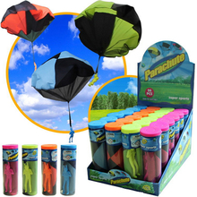 fun Hand Throwing kids mini play parachute toy soldier Outdoor sports Children s Educational Toys