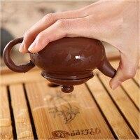135ML 1pcs Chinese Kung Fu Tea Pots Kettle Yixing Handmade Chinese Tea Set Pot Teapot Zisha Ceramic Pottery