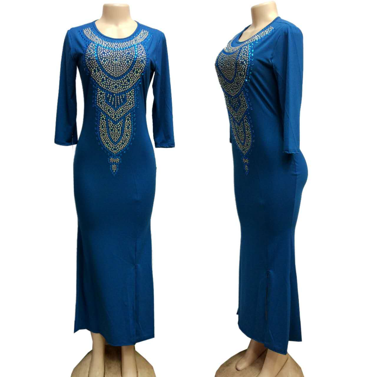 African Dresses African Dresses For Women Clothing Traditional Time-limited Polyester 2019 New Sexy-style Fashion Clothes