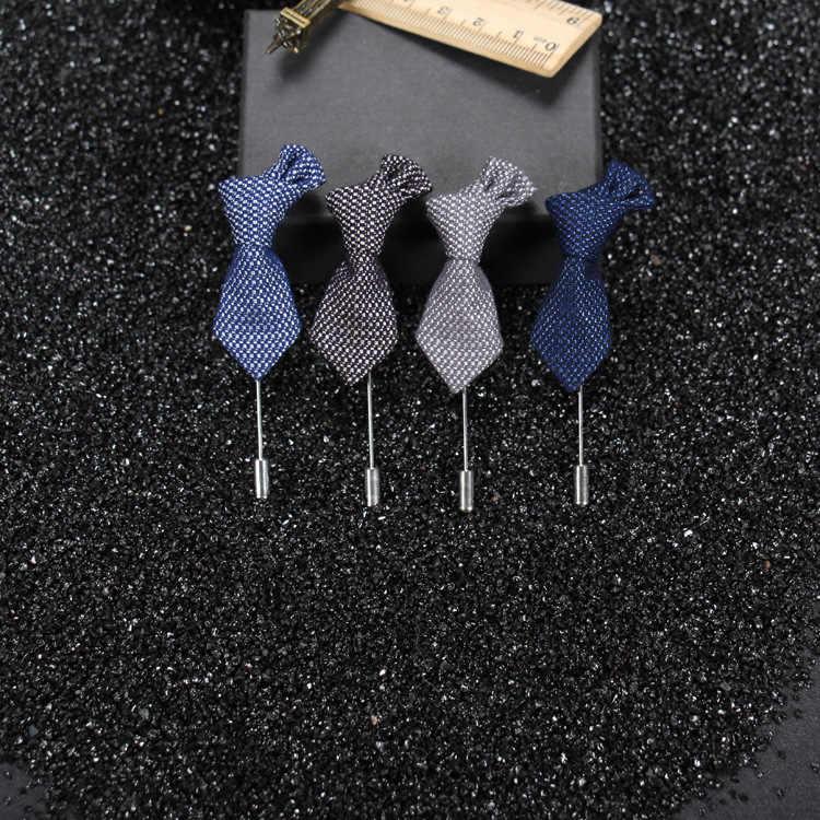 Coreano Classico Lunghi Aghi Spille Collare Della Camicia Fatta A Mano di Arte del Panno Cardigan Scialle Spille Papillon Da Uomo In Tessuto Spilla Cravatte per Gli Uomini