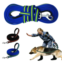 Durable 3m To 15m Dog Tracking Training Lead Leash Long Lead With Padded Handle Special Non