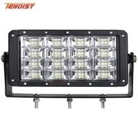 Super Bright 9 Inch 320W Flood LED Work Light For Truck Navvy Digger Bulldozer Harvester 12V 24V