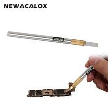 Носорога Профессиональных Ножей для IPhone 6 S Plus 6 5S 5C 5 4S 4 Материнская Плата CPU Ремонт Инструменты Электрический Инструмент Металлической Ручкой