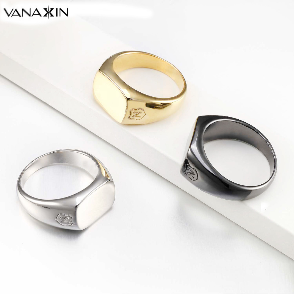 VANAXIN Ring Men Sterling Silver 925 AAA CZ Stone Fashion Punk Style Boy Rings Anel Masculino Black White Yellow Sun Flower Ring vanaxin 925 sterling silver rings for men jewelry iced out cz crystal anel masculino joias engagement wedding rings bague homme