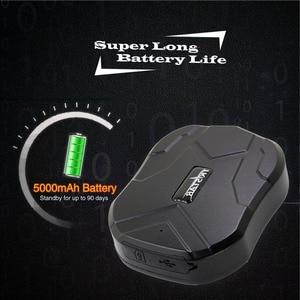 Image 3 - Gps samochodowy TKSTAR TK905 wodoodporny 5000MAH długi na baterie Life lokalizator gps pojazdu na silnik ciężarówki Bike z słuchaniem głosu