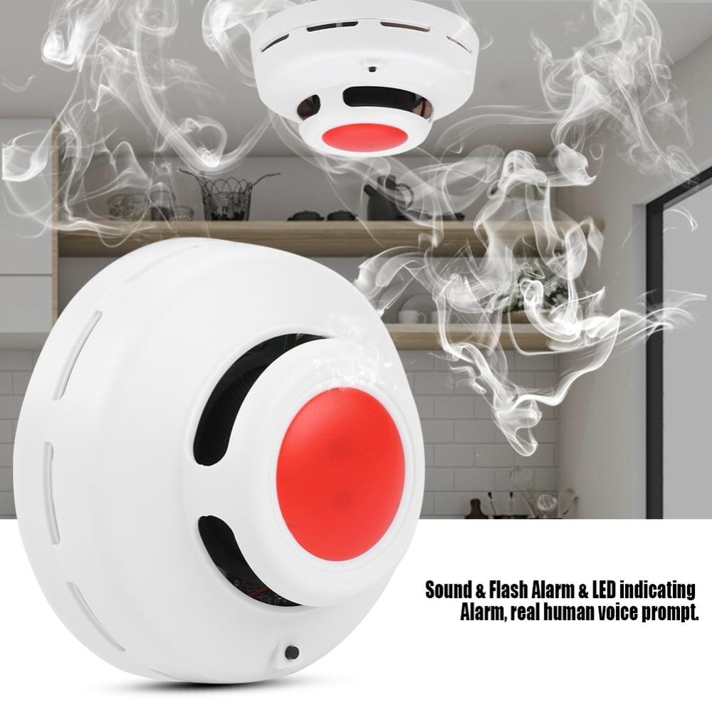 Smart High Sensitive CO Smoke Detector Carbon Monoxide Analyzer Gas Alarm Sensor for Home Secuity