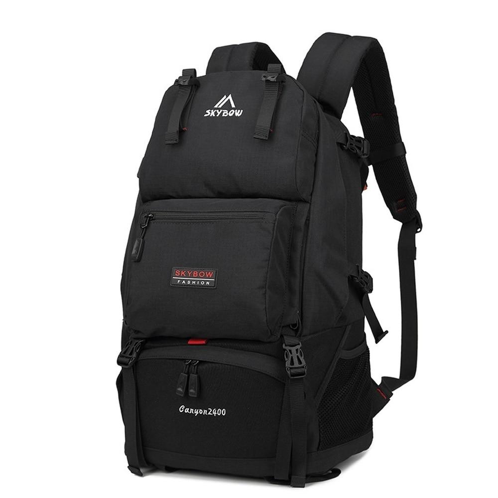Sac à bandoulière homme voyage en plein air grand sac à dos sport grande capacité sac de voyage multi-fonction étanche sac d'alpinisme
