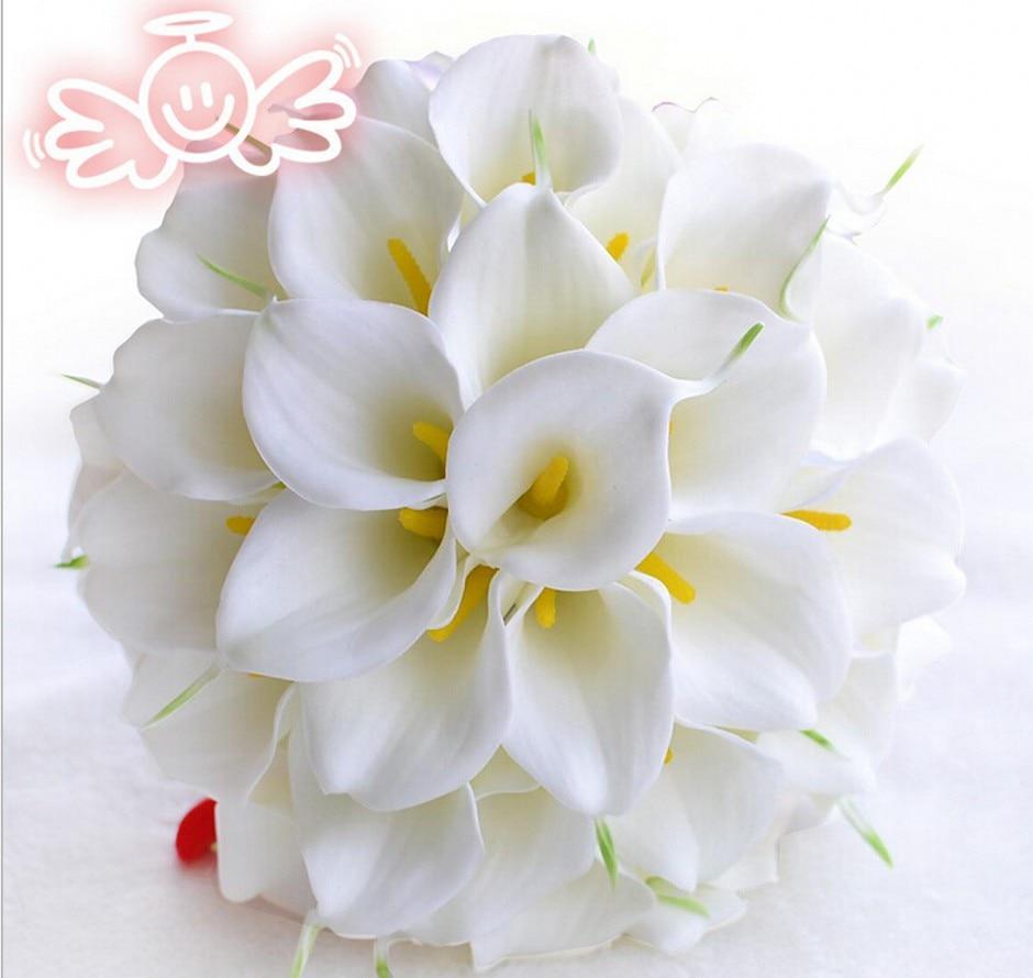 Wedding Bouquets With Arum Lilies : Ivoire calla lis achetez des lots ? petit prix