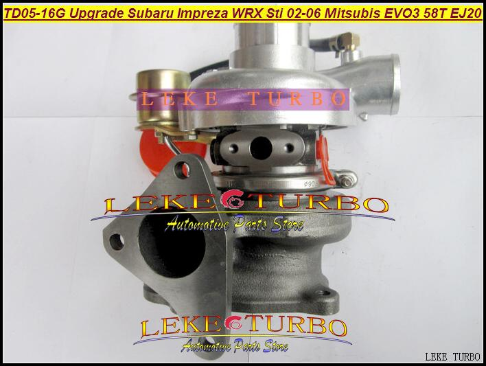 цены  Free Ship TD05H-16G TD05-16G 49178-06310 Turbo Turbocharger For Mitsubishi EVO3 Upgrade For Subaru Impezza WRX Forester 58T EJ20