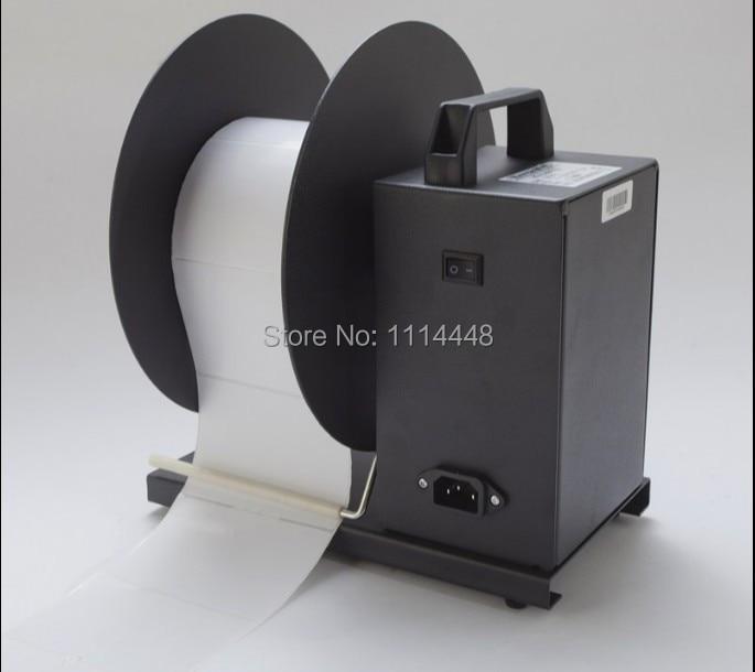 Brand New Electric Label Rewinder Rewinding Machine BSC-U6 Max.110mm automatic digital label tags rewinder barcode rewinding machines speed adjustable 220v