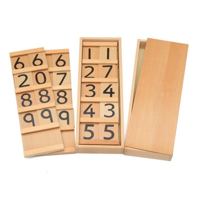 Montessori mathématiques enseignement jouets éducatifs pour enfants Montessori maternelle préscolaire apprentissage précoce cadeaux - 2