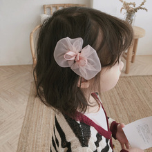 3 Colors Ribbon Big Hair Bows Accessories For Girls Princess Clips Flower Crown Cute Baby Pins