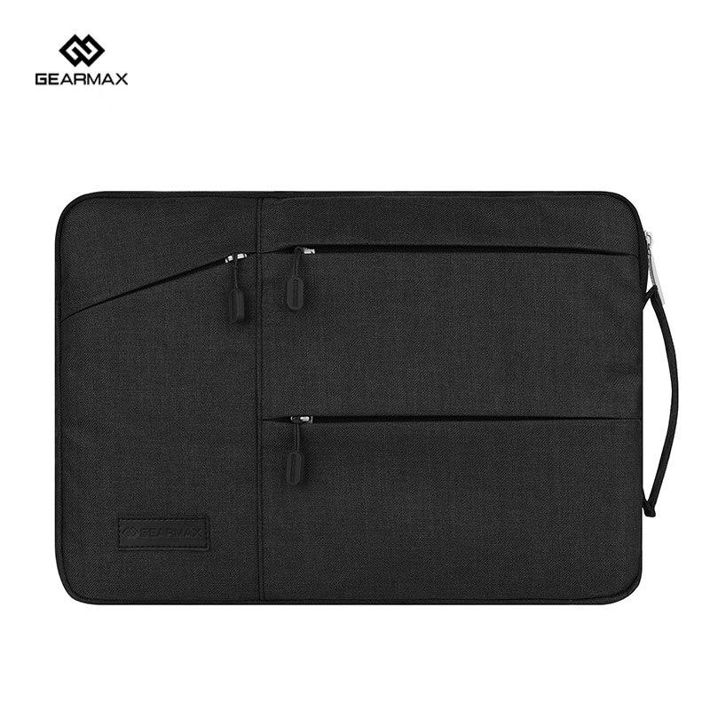 Original Gearmax Bolsa Notebook Funda Portatil Bags Sleeves Comptuer Cover Case For Macbook Air For Xiaomi Mi Notebook Air 15.6