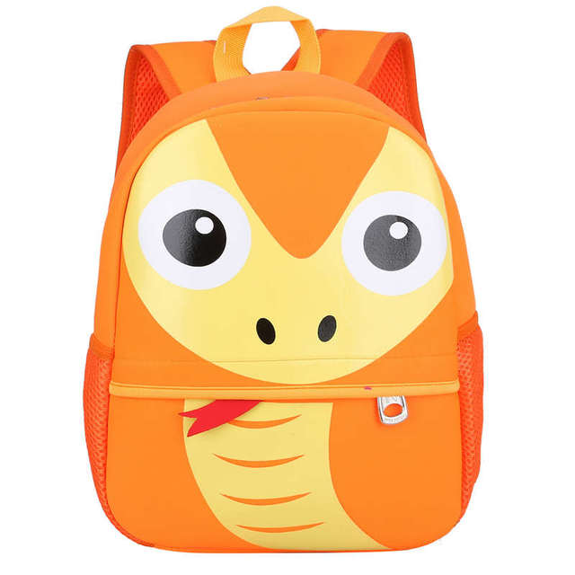 3D Animals Printing School Backpacks for Children Waterproof Cartoon Kids School Bags for Girls Large Capacity Mochila Escolar