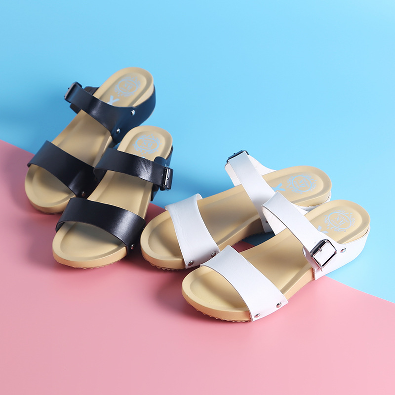 Plat Wish À Chaussures Sandales Loisirs Ouvert D'été Bout Femmes XN0Pkw8nO