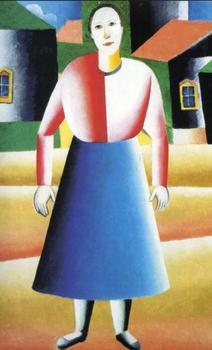 High quality Oil painting Canvas Reproductions Girl in the Country (1929) By Kazimir Malevich hand painted