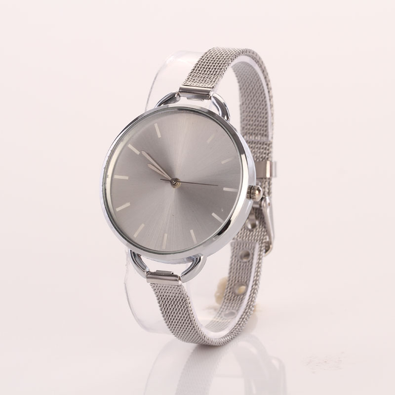 Splendid Girls Women Ladies Analog Stainless Quartz Bracelet Wristwatch Watch l 10 women s stylish petals style bracelet quartz analog wristwatch golden white 1 x lr626