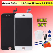 2017 AAA+ Quality Display for iPhone 6S Plus LCD Screen Touch Digitizer Assembly Replacement Full Retina Pantalla Module A1699