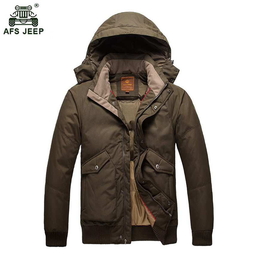 2017 High Quality 90% White Duck Thick Down Jacket Men Coat Parkas male Warm Brand Clothing Winter Down Jacket Outerwear 288wy