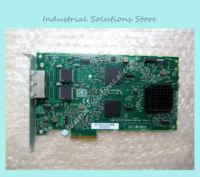 Original NC380T BCM5706 dual port Gigabit Ethernet 374443-001 100% tested perfect quality  dux adp 509 06 2001 509c industrial motherboard hfpp pic9 dual ethernet port 100