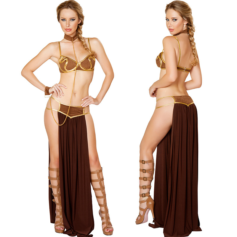 Star Wars Princess Leia Costume Cosplay Fancy Dress Outfit Halloween.
