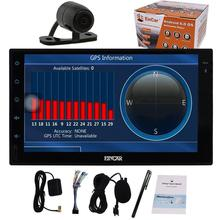 7 inch Android 6.0 Car Stereo Radio 2Din Head Unit with HD Autoradio Stereo GPS Navigation Bluetooth support 3G/4G WIFI+camera