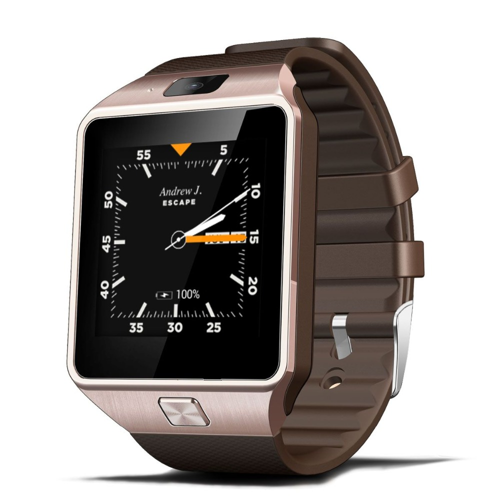 Free shipping Bluetooth4 0 3G WIFI QW09 Android Smart Watch Real pedometer SIM card Call Wrist