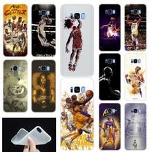 15197e648b8 Dear Basketball Kobe Bryant Soft TPU Phone Case Cover For Samsung Galaxy S6  S7 Edge S8