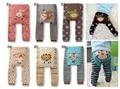 2015 bebé de la historieta imprimen punto busha pp pantalones de cintura elástica Leggings niño embroma la ropa 3 - 24 M
