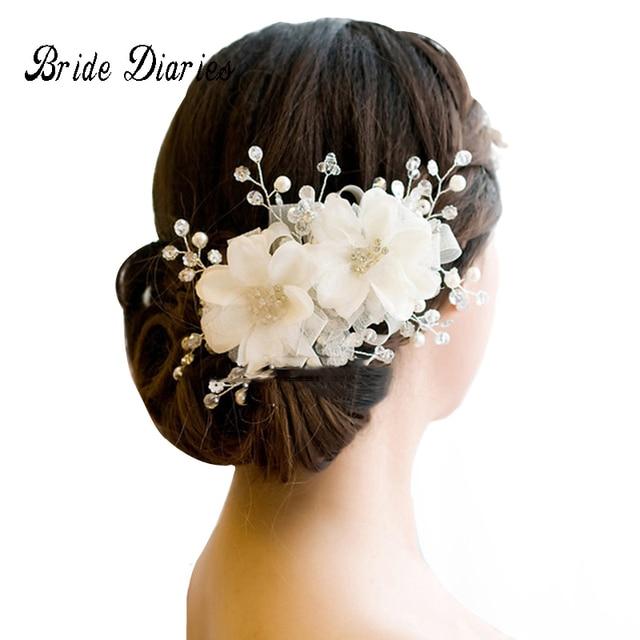 Украшения для волос Свадебные аксессуары для волос цветочные головной убор романтическая Кружево Hairwear цветок свадебные аксессуары для волос свадебный