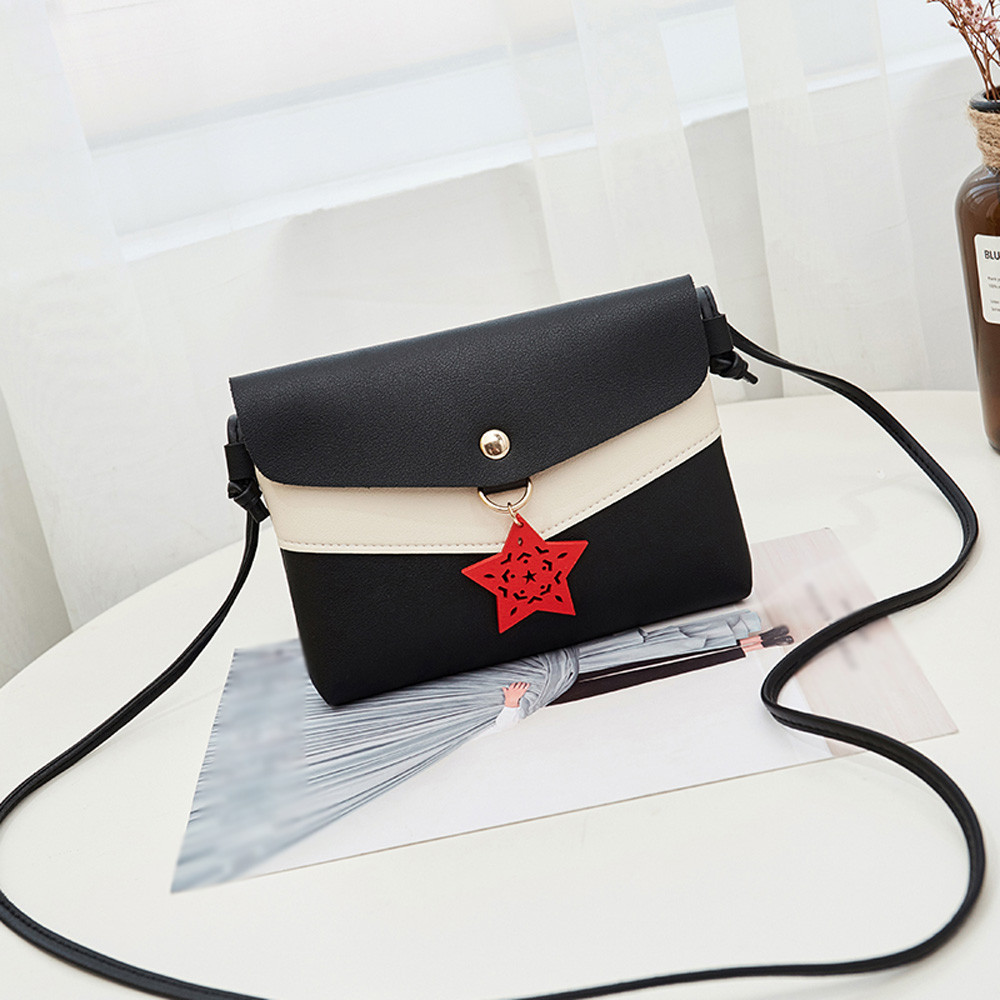 Small Bag For Women 2019 Fashion Vintage Chain Leather Messenger Bag Lady Casual Purses And Handbags Crossbody Bags Bolsos Mujer