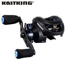 KastKing Assassin 7.5 KG de Arrastre de Carbono Carrete de Baitcasting Mano Derecha Izquierda Carpa Carrete de La Pesca de Alta Velocidad 6.3: 1 Señuelo carrete