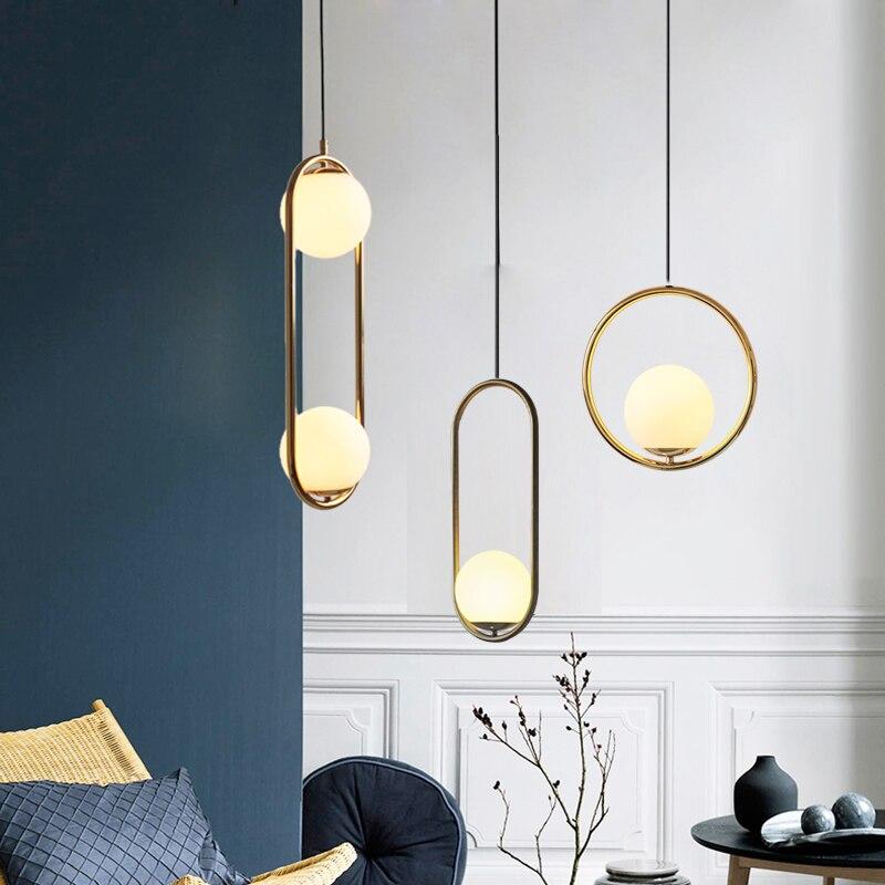 Pós-moderna Criativa Itália Designer de Arte luz Pingente de Loft Coffee Shop Hanging Sala de Jantar Luzes Bar Levaram Luzes de Cabeceira