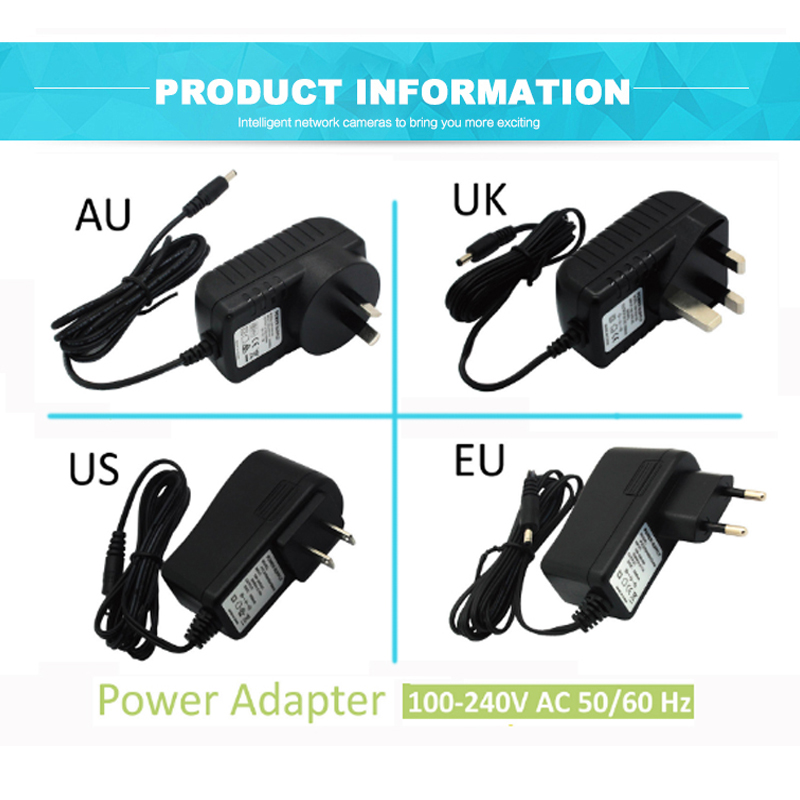 AC ADAPTER 5V 1.5A DC INTERFACE 3.5MM CABLE LENGTH 1.5METER DASJACA SURVEILLANCE CAMERA AC ADAPTER ...