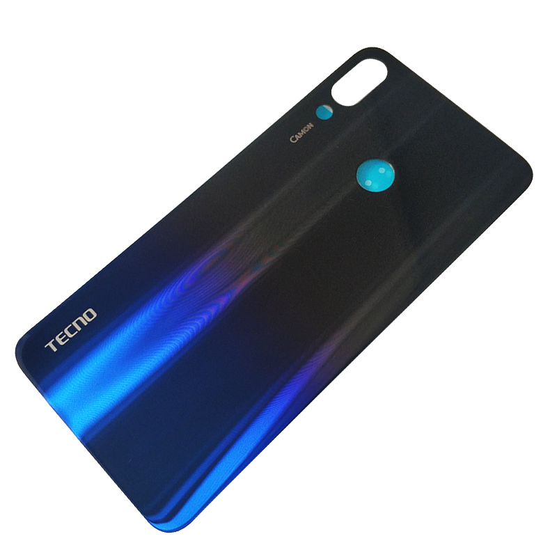 US $11 17 14% OFF|TECNO Camon 11 Pro Back Door Cover Battery Case Glass  Rear Housing Cover Replacement With Adhesive Sticker for TECNO Camon  11Pro-in