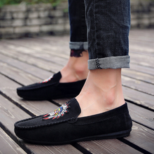 2018 new Summer spring Breathable  Leather Flats Loafers Men Casual shoes men Luxury Fashion Slip On Driving shoes   5 цена
