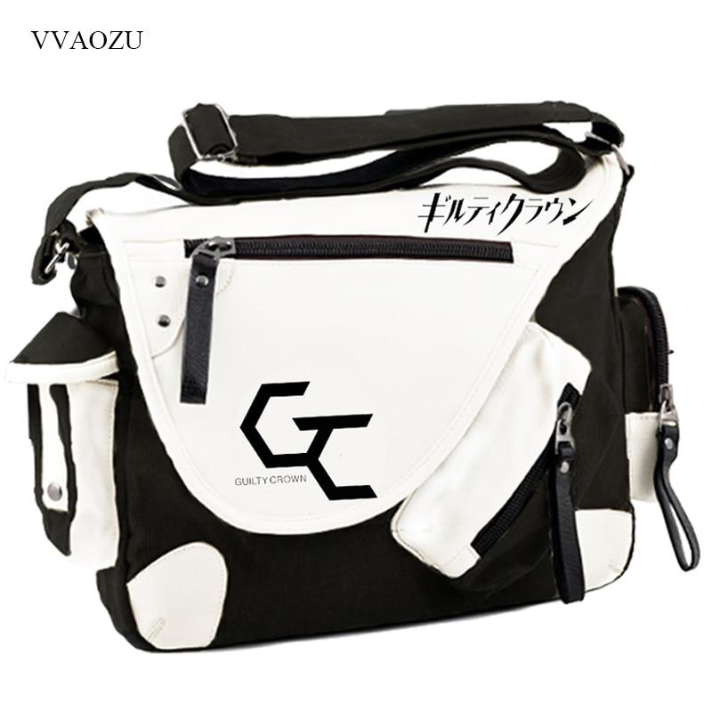 Guilty Crown Japan Anime Schultaschen Mode Kühlen Yuzuriha Inori Cos - Handtaschen