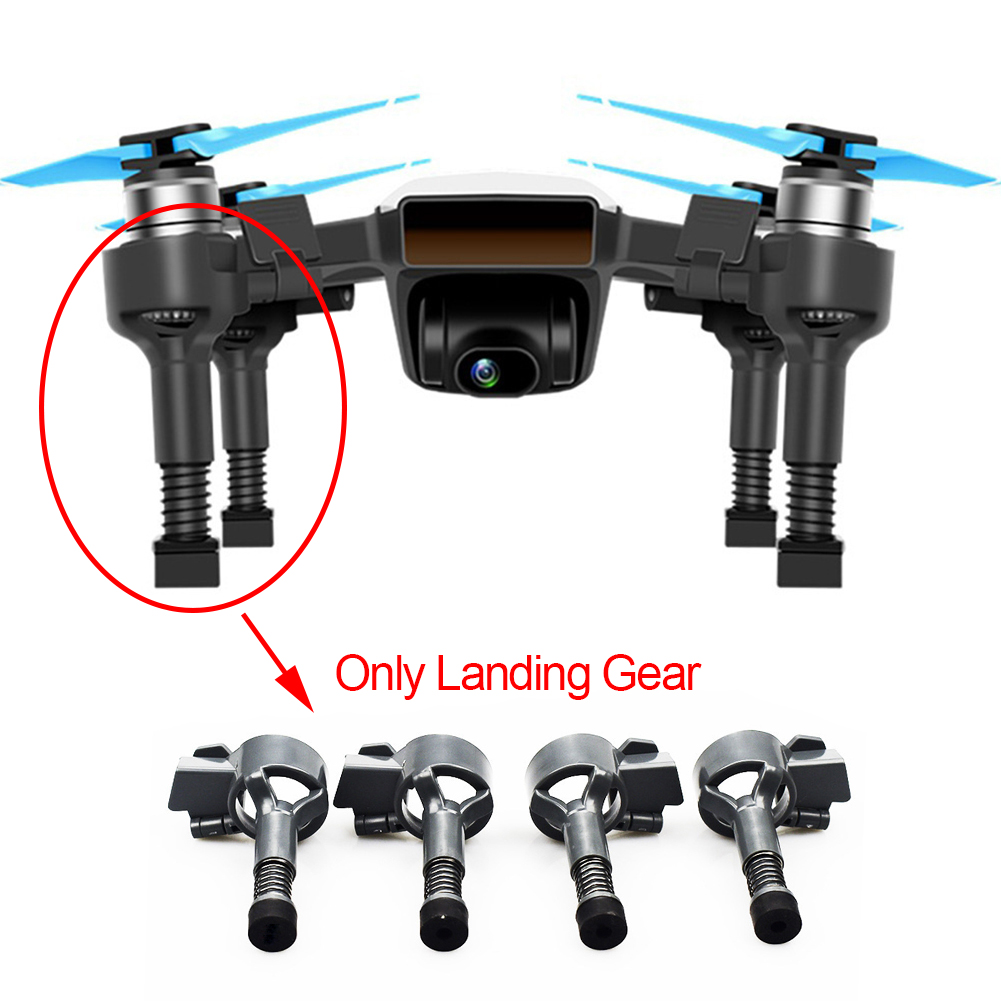 4pcs-left-stable-font-b-drone-b-font-accessories-extended-bracket-landing-gear-abs-parts-heightened-replacements-spring-damping-for-font-b-dji-b-font-spark